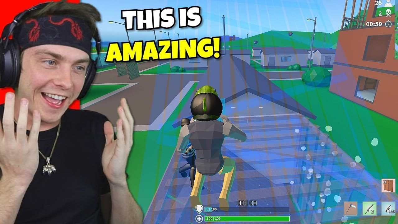 i actually played strucid fortnite... (better than ...