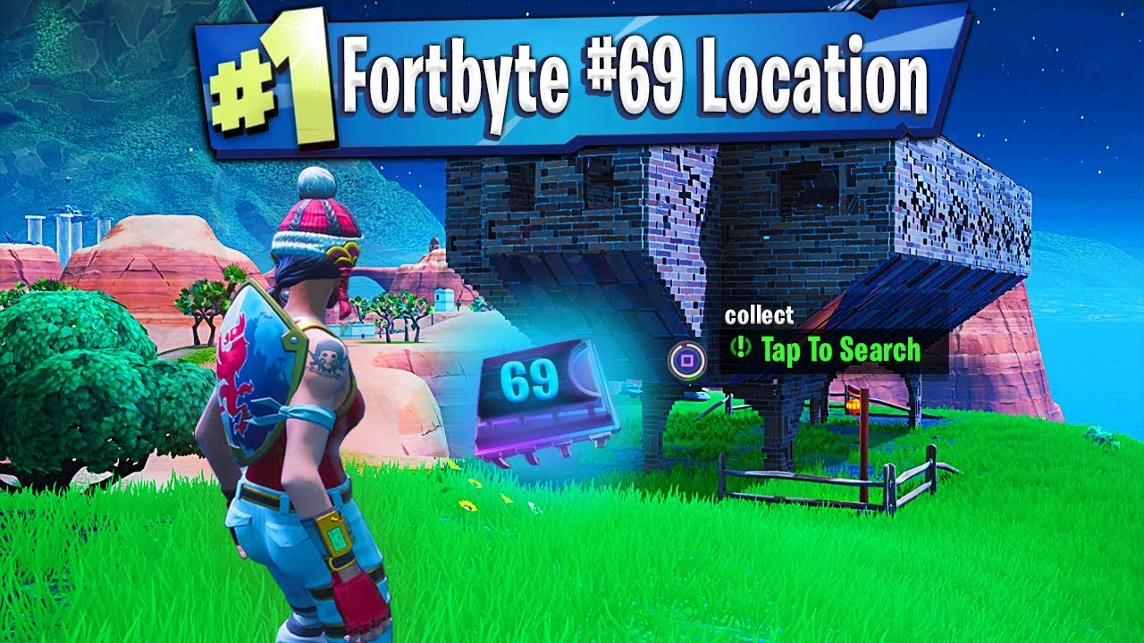 Where To Find Fortbyte 69 Found Inside A Stone Pig: Fortnite Fortbyte #69 Location